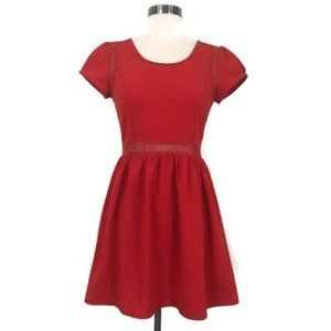 ANTHROPOLOGIE - Pins & Needles Lace Skater Dress 2